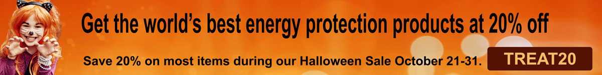 Halloween Sale Get EMF Protection