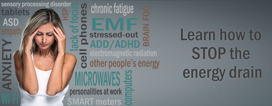 Take one of the quizzes to learn about your sensitivity to EMF and HSP