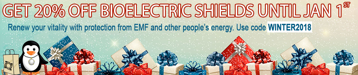 Holiday Sale for EMF Protection