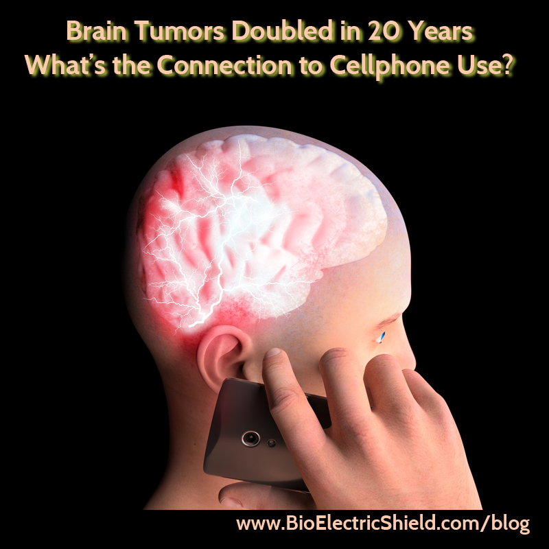 brain tumors double from cell phone use