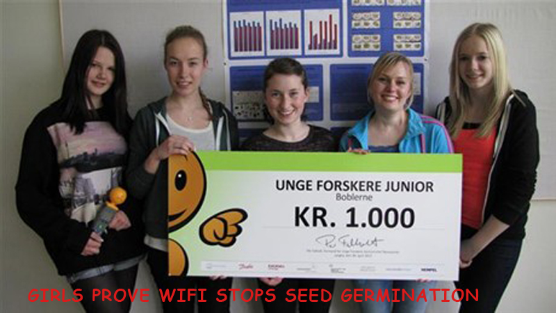wifi stops seed germination