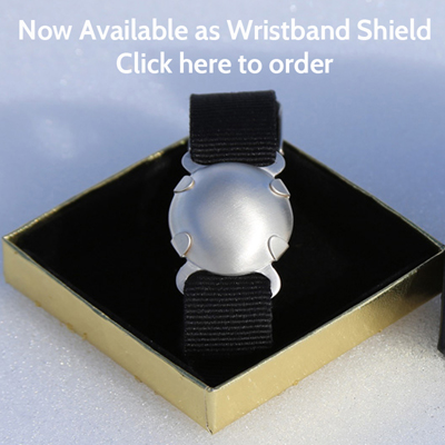 wristband emf protection shield