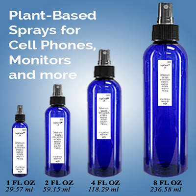 spray on emf protection for cell phones, electronics, windows