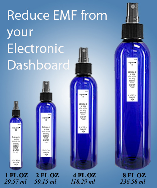 emf protection for electronic dashboard in vehicle