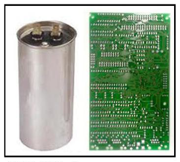 3 capacitor to circuit board