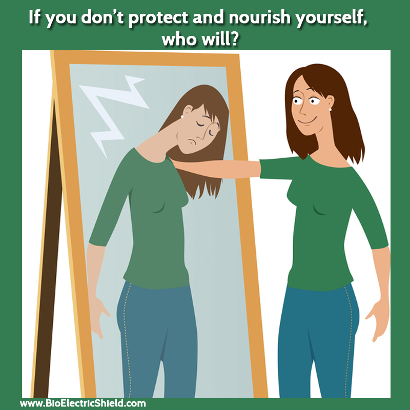 Nourish yourself - self-care is important