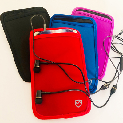 emf phone protection pouch