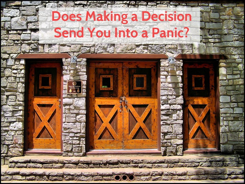 three doors to choose from in making decision