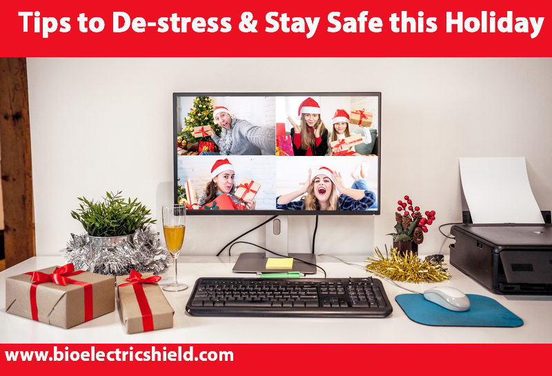 Zoom holiday celebration tips to de-stress and stay safe this holiday