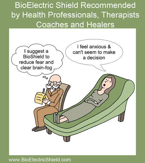 psychiatric couch with Patient -