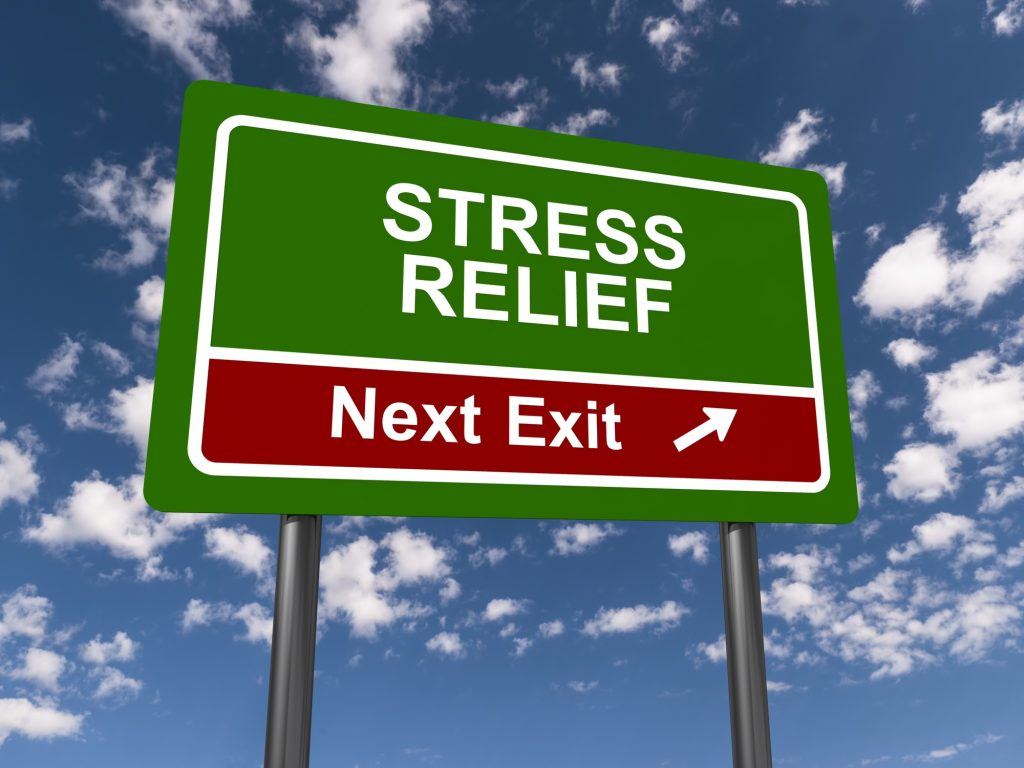 sign of stress relief