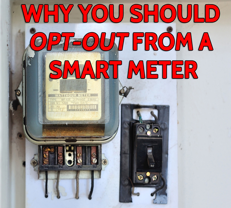 Picture of smart meter - why you should opt out of smart meters